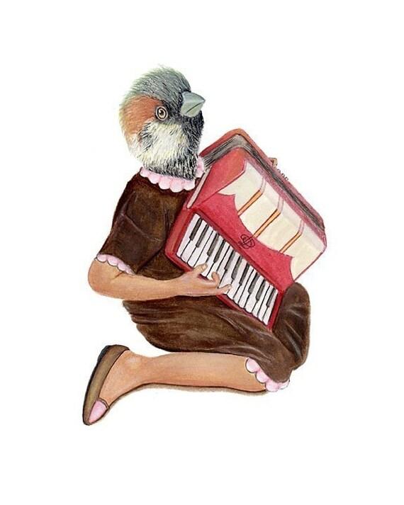 the lonesome accordionist