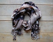 Galaxy Scarf  - hand-dyed tie dye - Style C