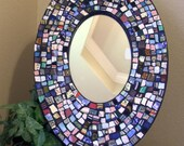 Patchwork Shard Mosaic Mirror ONE DOLLAR SHIPPING