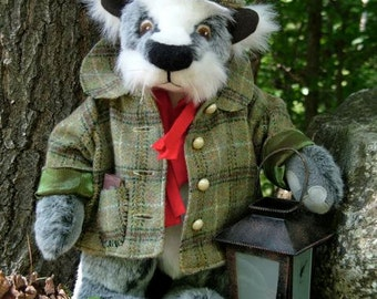 Forest Guardian, Badger sewing pattern, new for spring 2011