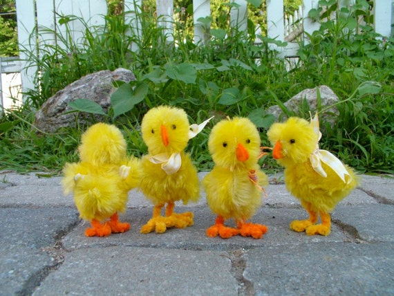 Spring Chicks, new sewing pattern for 2012