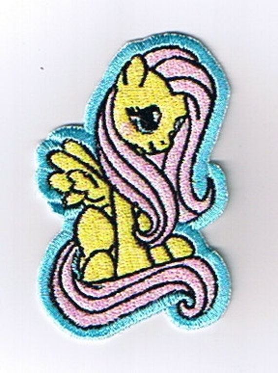 My Little Fluttershy Machine Embroidered Sew On Patch