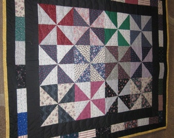 pinwheel lap/baby quilt