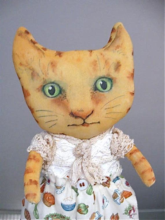 RESERVED for Judi- cat art doll