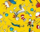 The Cat in The Hat fun on Yellow from Robert Kaufman,  Yard