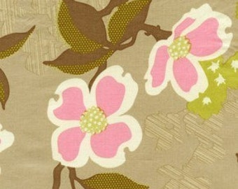 Joel Dewberry's Dogwood Bloom in Pink, 1/2 yard