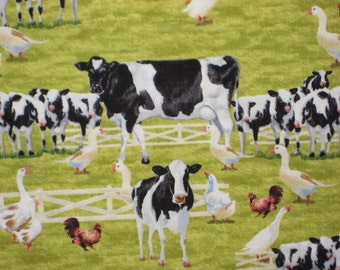 Farm Life, Cows from Print Concepts, 1/2 yd