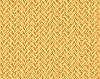 Joel Dewberry's Ribbon Lattice in  Amber, Heirloom collection, yard