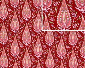 Amy Butler's Cypres Paisley in Wine,  LOVE Collection,  Yard