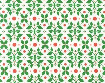 Laurie Wisbrun, Modern Whimsy garden Fabric in Meadow, yard