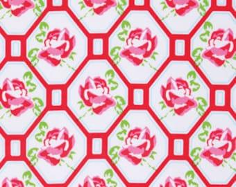 Sugar Hill,  Rose Trellis in Red by Tanya Whelan, yard
