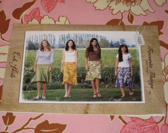 CUTE SKIRTS pattern by Favorite Things, sizes 4-22 included