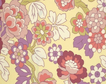 Amy Butler Fabric,  Cutting Garden in Linen, Gypsy Caravan collection, yard