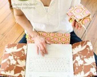 Amy Butler laptop cover and MP3 Case Pattern
