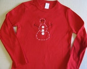 Holiday Super SALE Freezie the Snowman 4t Unisex Long sleeve Tee