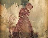 Lady Jane Bird Collage
