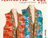 Stephanie Kimura's   Kimono Vest Pattern