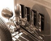 Roadster - 8x10 Sepia Photo - Model A Detail