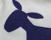 My Little Donkey purple 0 to 3 months