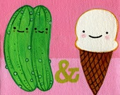Pickles and Ice Cream card