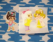 Liddle Kiddle Sticker Set