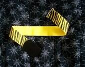 Yellow Zebra Cinch Belt