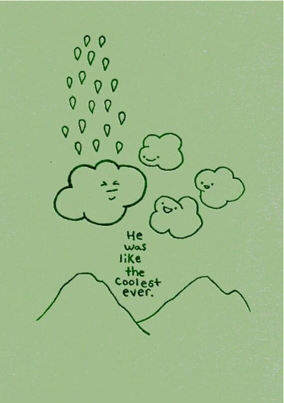 Coolest Cloud Gocco print