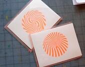 Florescent Op Art Postcard Pack