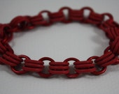 All Red Chainmail Bracelet RESERVED FOR LISBONSKY