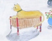 The Yellow Cat Society Reproduction