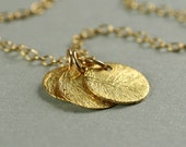 Circlets Necklace - Vermeil and Goldfill
