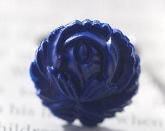 The Blue Flower VINTAGE Ring
