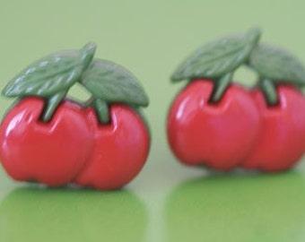 Bada Bing Cherries Stud Post Earrings