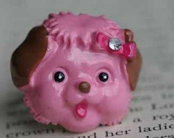 My Little Pink Poodle Ring