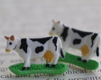 How Now Cow Stud Post Earrings