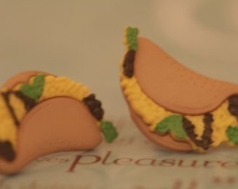 Two Tasty Tacos For The Price of One Earrings