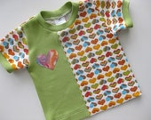 Toddler Shirt VC Rainbow Hearts 3T