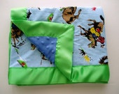 Baby Blanket Giddyup Cowboy Baby Shower Gift Toddler Blanket
