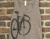 Fixed Gear Bicycle Tank Top
