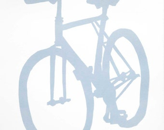 Bicycle Art - Cycle Speedway Bike Print