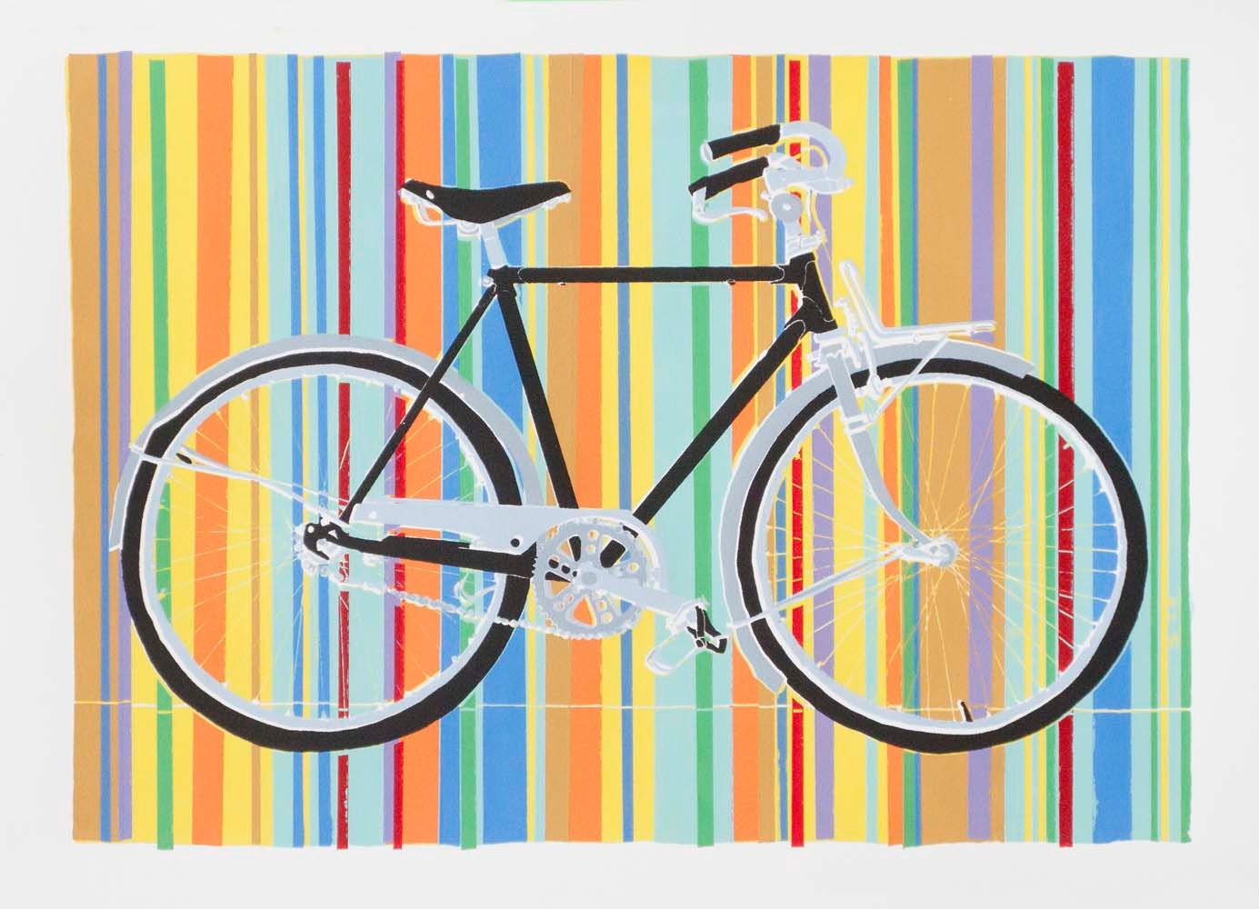 Prints By Deluxe: Bicycle Art Print Ryan's Freedom Deluxe 11