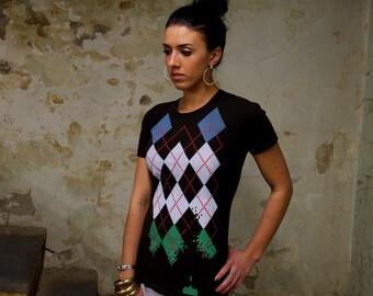 Women's T-shirt - Geek Gift -  Tech Gift - 80's Nostalgic - Video Game Shirt - Funny Tshirt - Nerd Shirt
