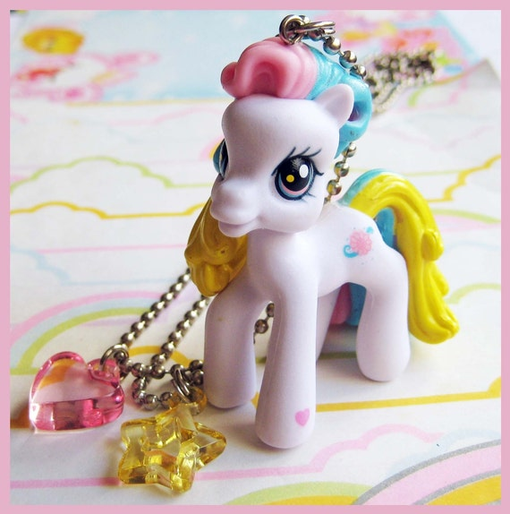 White My Little Pony Necklace