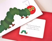 The Very Hungry Caterpillar Address Label