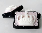 Vegan Bar Soap Princess Crown Shape