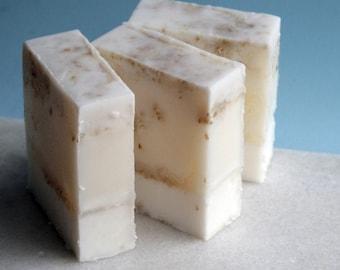 Scrubby Bar Soap Hot Buttered Oatmeal Goats Milk Bar Soap