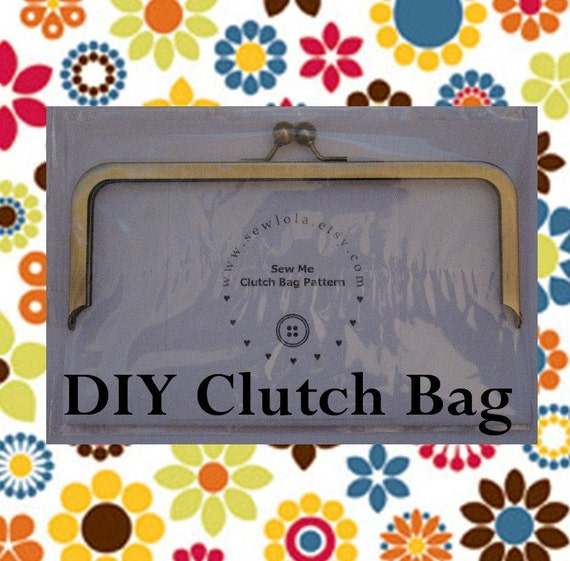 how to make a clutch bag with frame