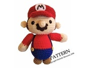 PATTERN Super Mario Softie Pattern