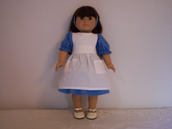 Alice In Wonderland Dress for American Girl Dolls