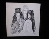 AEROSMITH--DRAW THE LINE--VINYL RECORD PC 34856